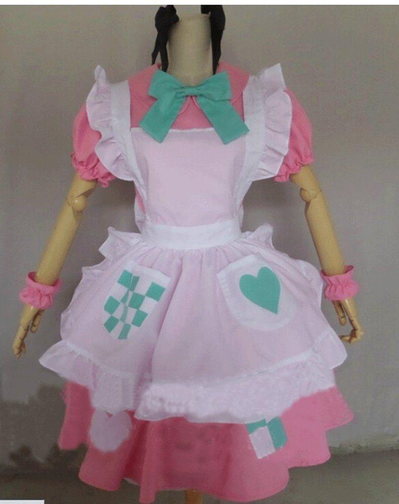 Amazon.com: Camplayco Axis Powers Hetalia APH Rosa·kirkland Maid Uniform Cosplay Costume-made: Clothing