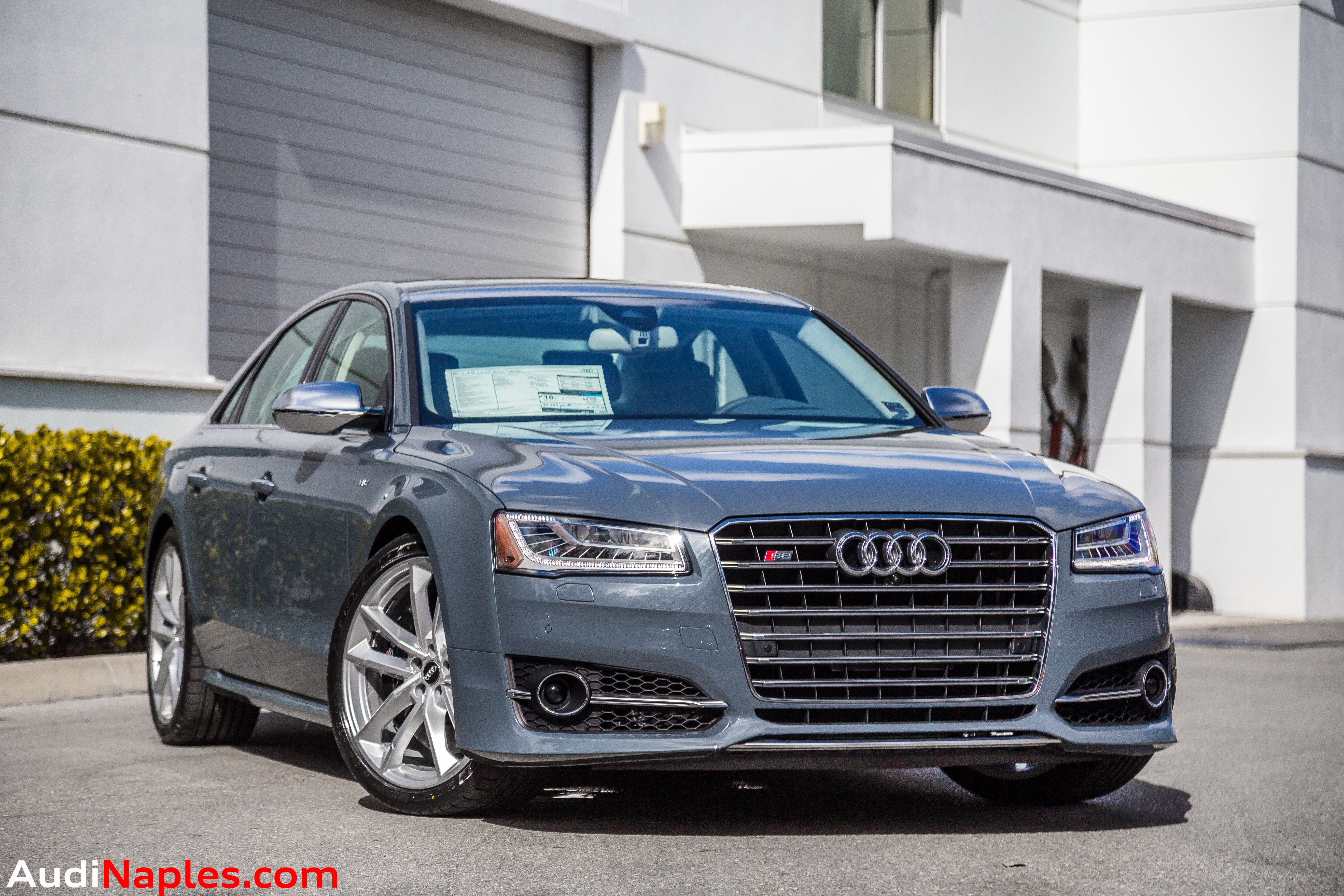 S8+ Graphite Blue Audi, Audi dealership, Used audi