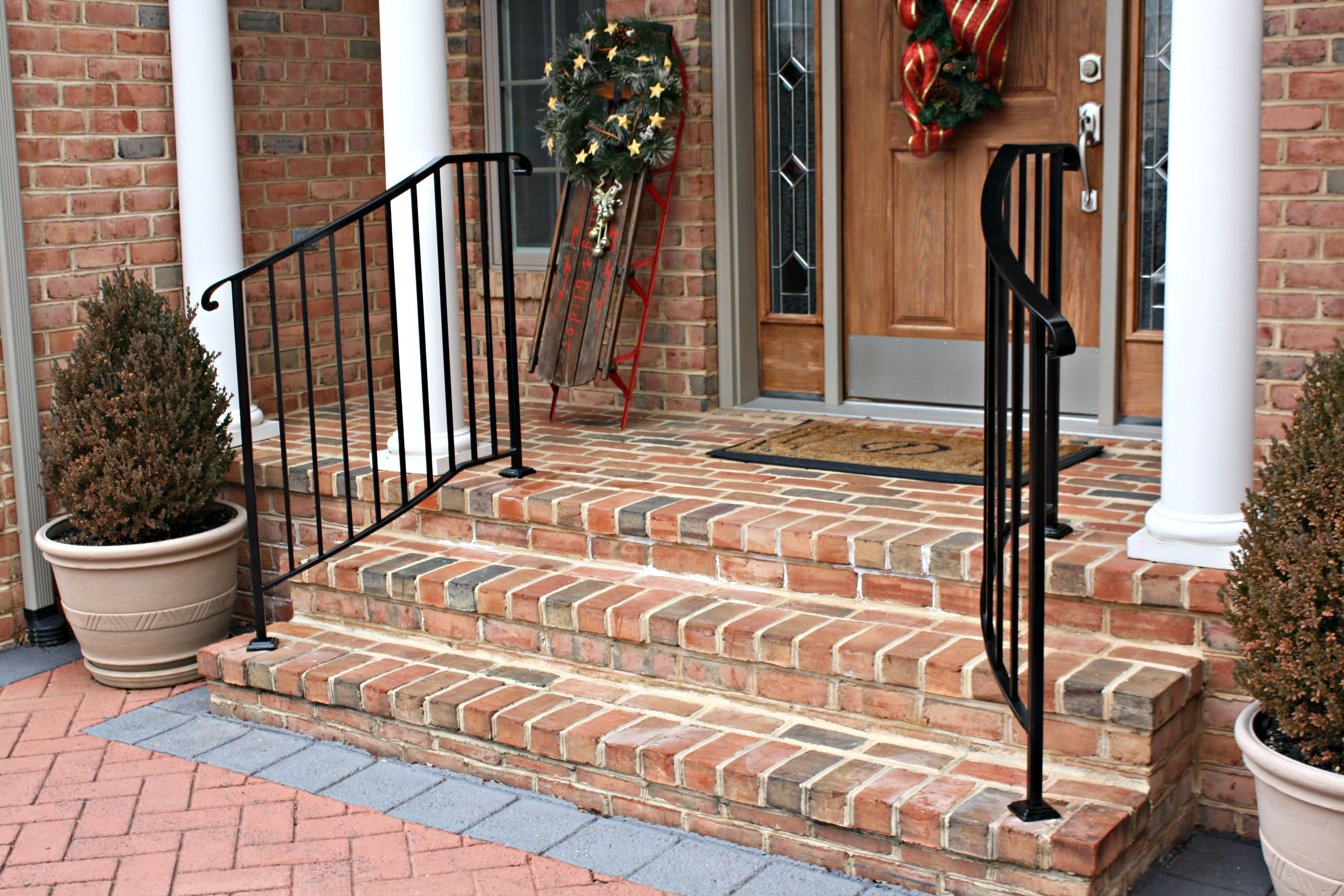 Best Wrought Iron Porch Railings Stair Rails For Homes Small In 400 x 300