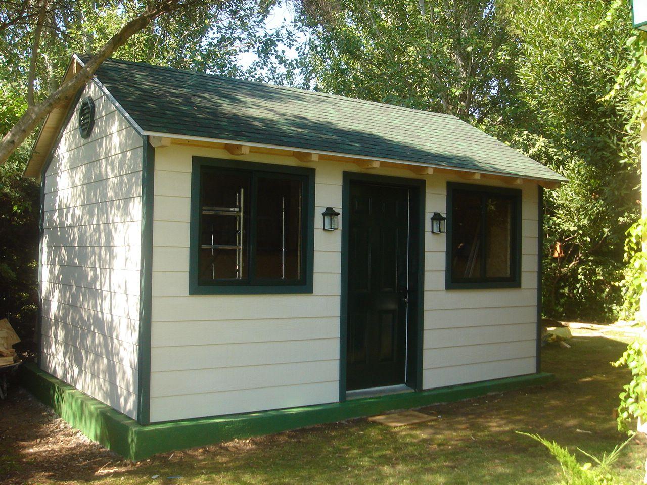 Construcción de casita de campo