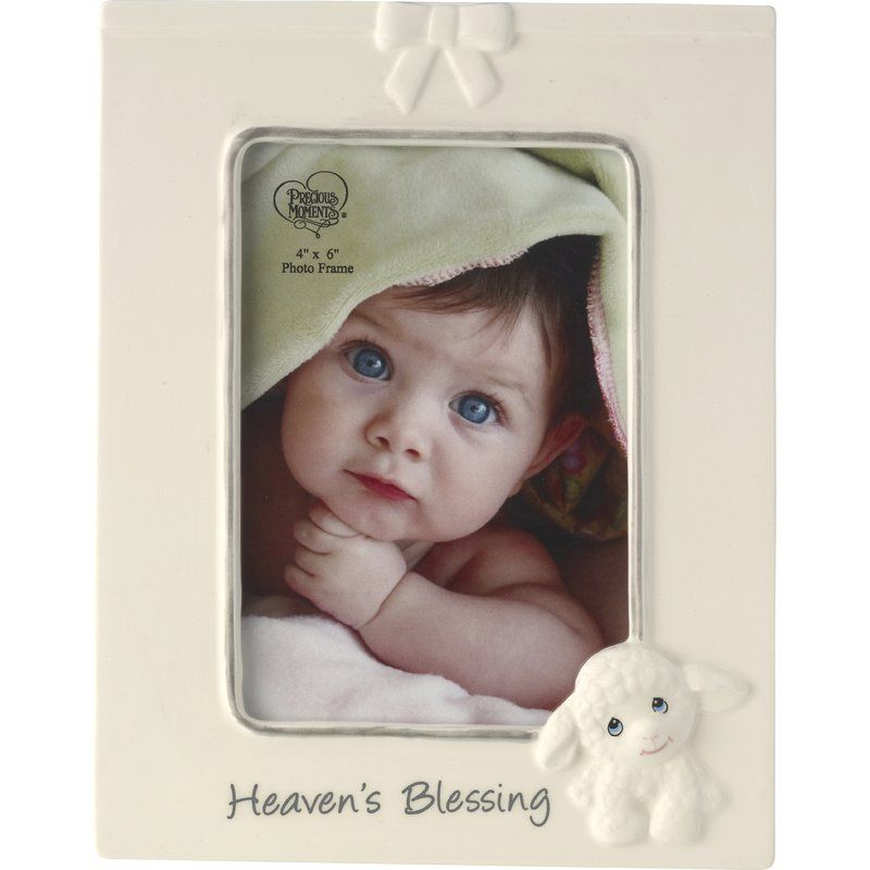 Heaven\'s Blessings Ceramic Lamb Picture Frame..getting this for my ...