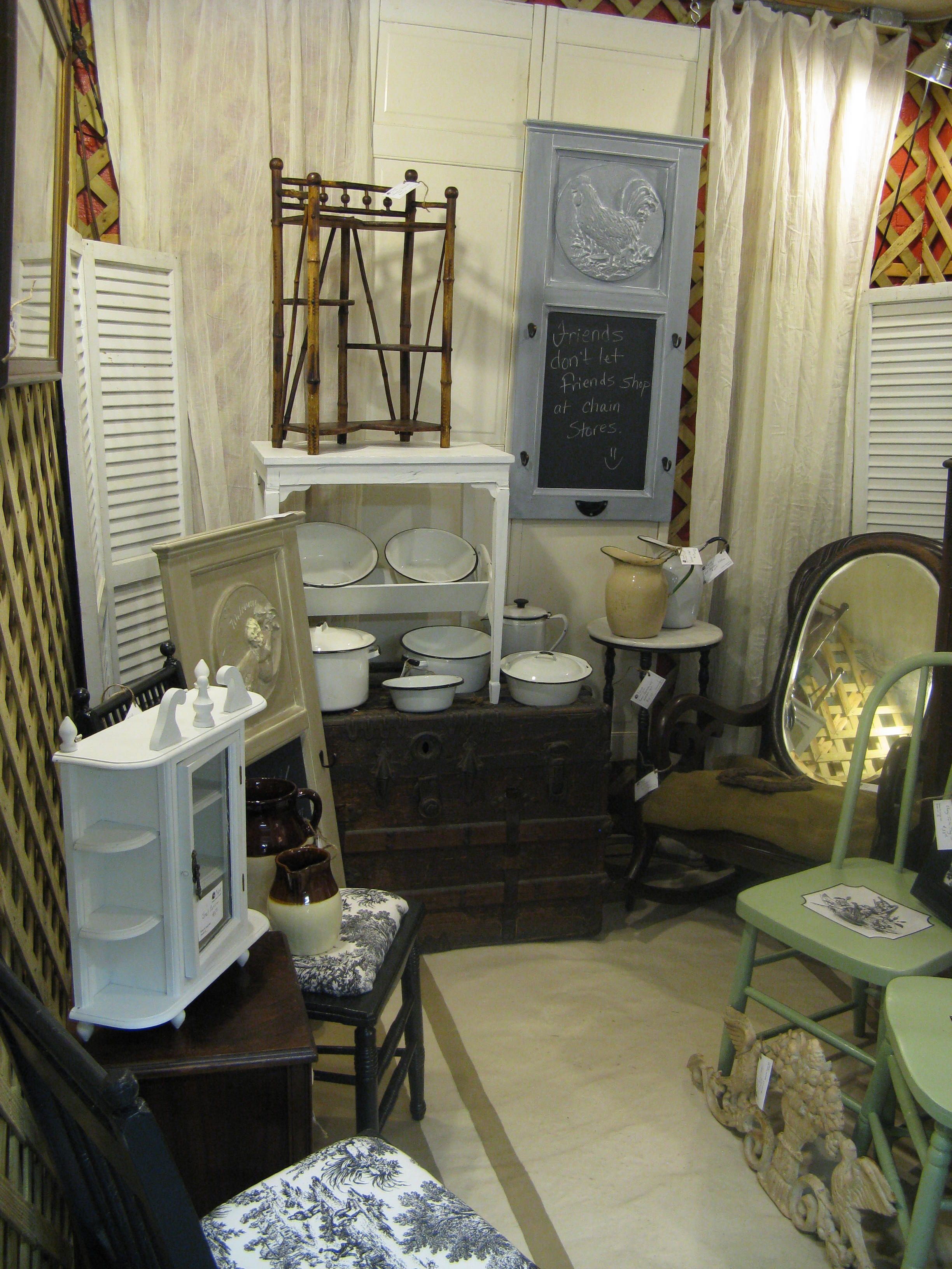Antique Mall Booth Display. Antique booth ideas, Antique