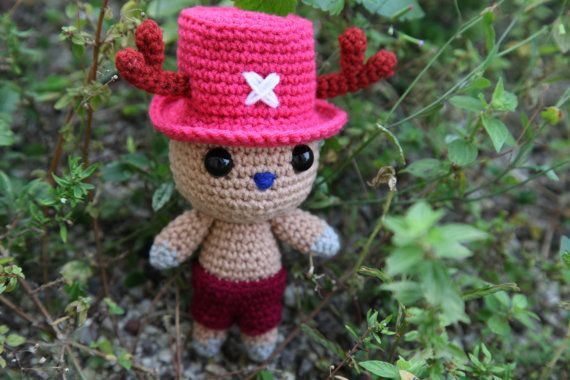 Tony Tony Chopper One Piece  Amigurumi PDF pattern by BaburuStar, $5.50