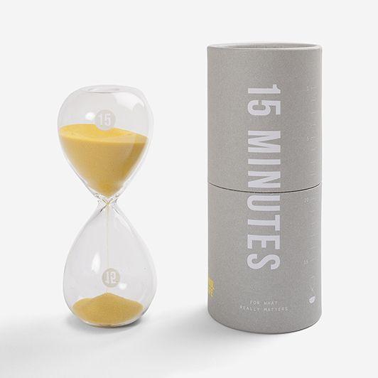 set timer to 15 minutes