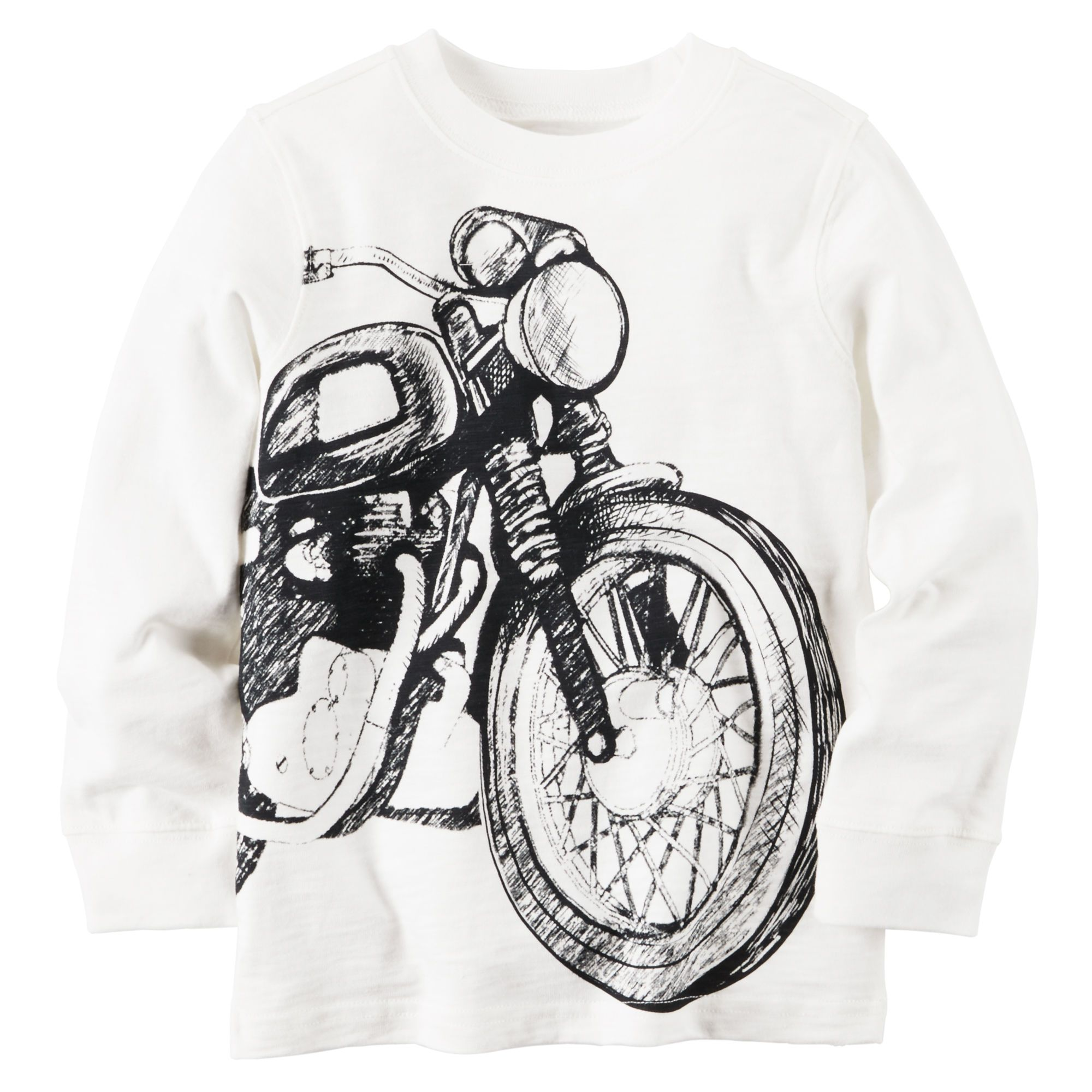 Kid Boy Motorcycle Tee | Carters.com