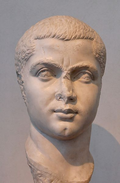 "The Roman Senate, which supported Gordian I, turned to his grandson, Gordanian III. Gordanian III became the 32nd Roman Emperor at age 13 in year 238. In 241, Gordian was married to the daughter of the Praetorian Prefect, Timesitheus, who was the de facto ruler. In February 225, Timesitheus and Gordanian III both died on campaign against the Persians, although how they died is unclear. Marcus Julius Philiipus (""Philip the Arab""), the new Praetorian Prefect, soon claimed the imperial throne."