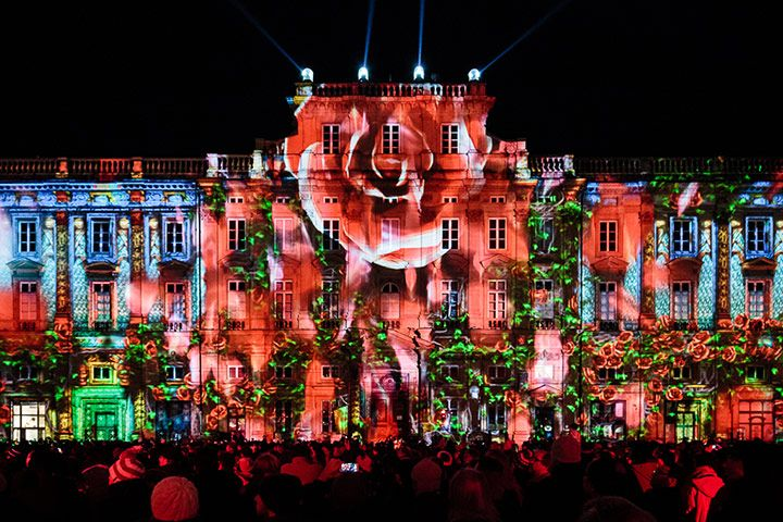 ❥ Festival of Lights, Lyon, France – in pictures