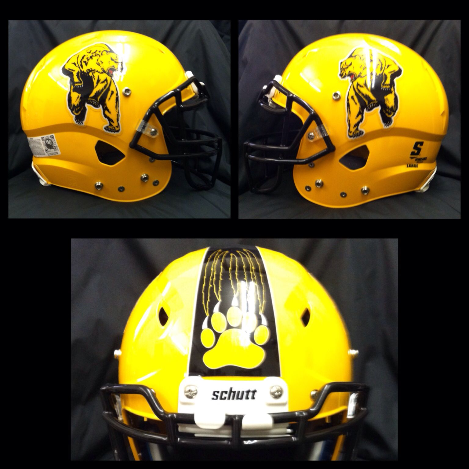 Check out the football helmet decals evelethgilbert will