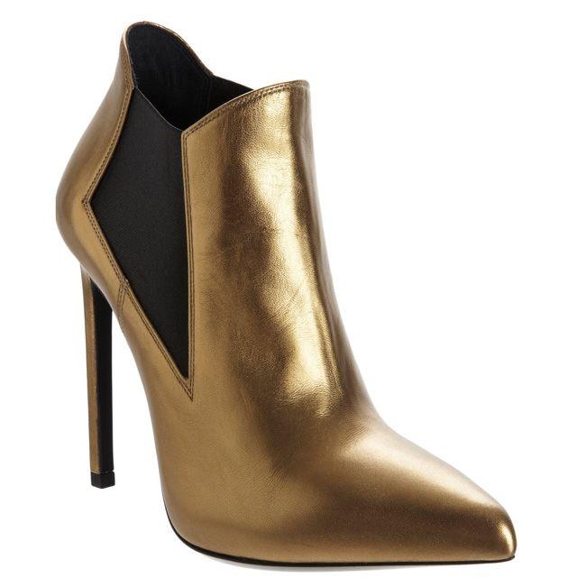 Saint Laurent Paris Pointed-Toe Ankle Boots buy cheap Inexpensive cheap discounts cheap affordable Y9uNxn8SJj
