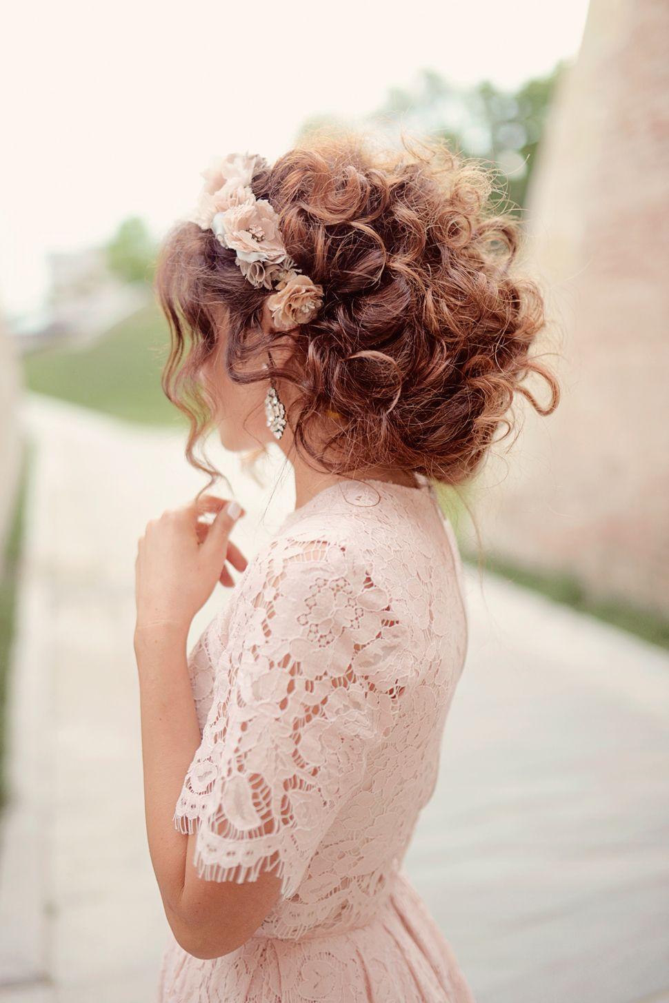 Lace Midi Dress Really Curly Hair Long Hair Styles Hair Styles