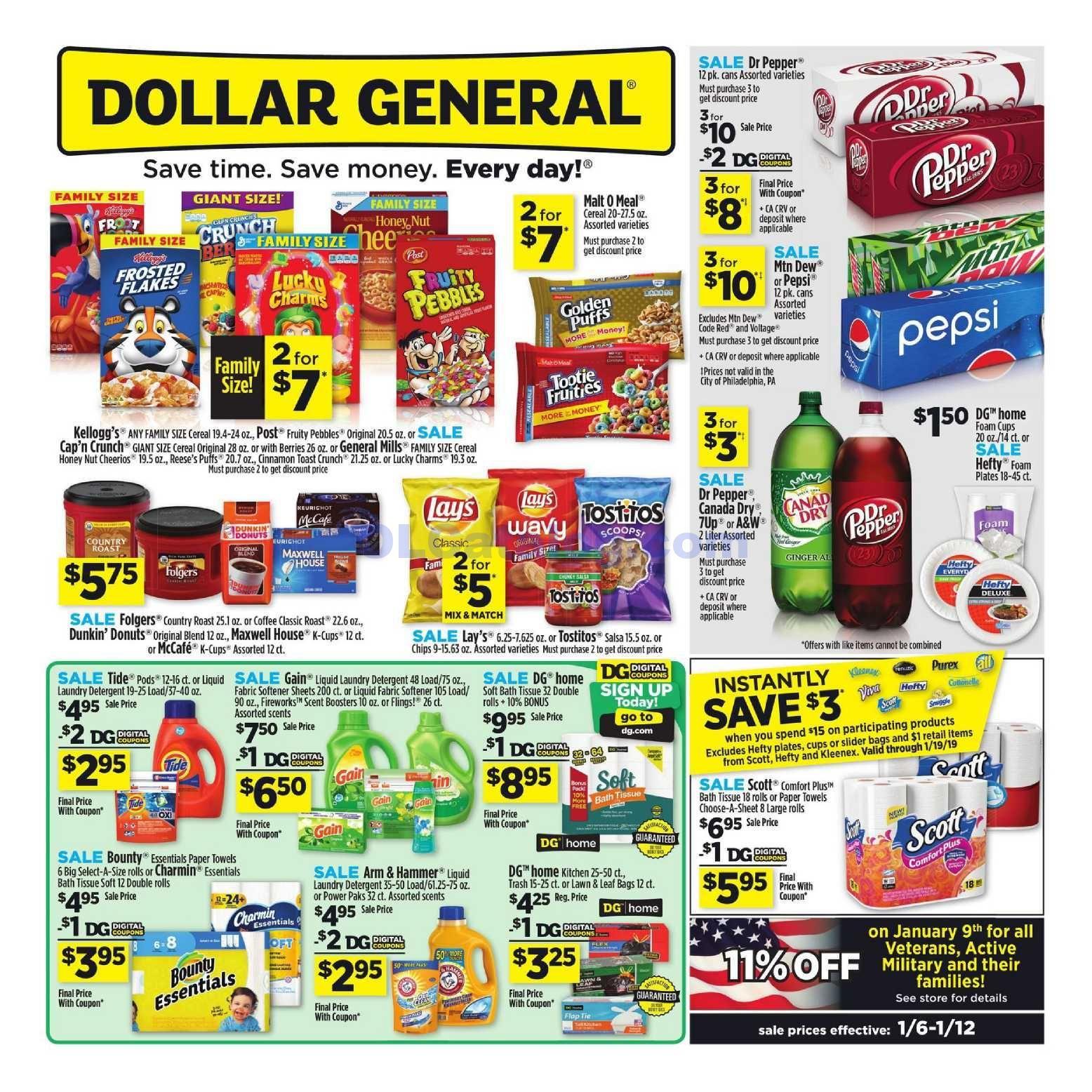 Dollar General Weekly Ad Valid Mar 01 Mar 07 2020 Sneak Peek