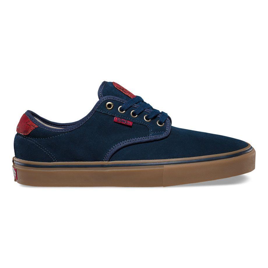 Vans Men's Chima Ferguson Pro Suede Shoes - Navy/Gum