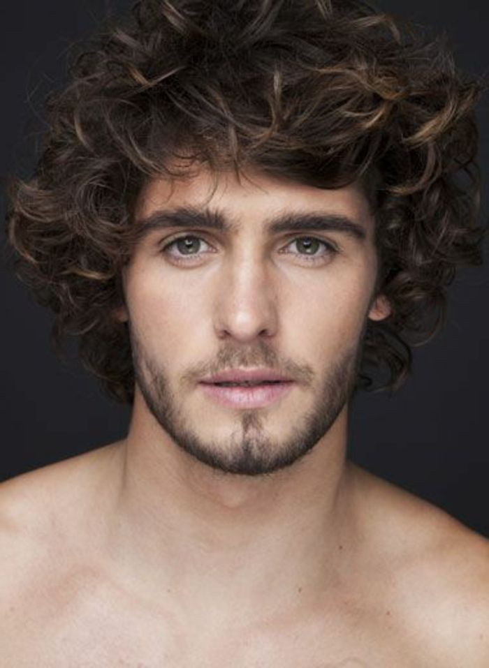 Fabulous 63 astuces pour les hommes avec des cheveux frisés. | Tendance  CV42
