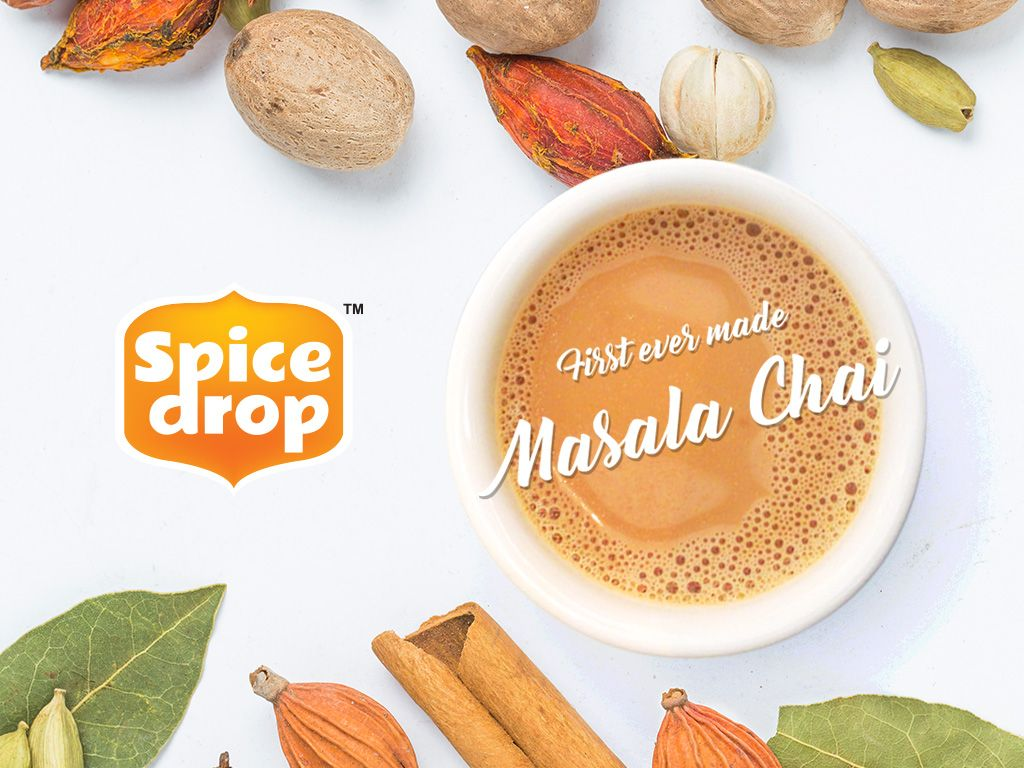 Masala Chai's story started from the ancient kingdom of south Asia and found its way to all corners of the world by its special taste. The masala chai was a blend of spices like cinnamon, cardamom, cloves, ginger, nutmeg, black pepper. The spices are crushed and added with water, milk, tea leaves and sugar which turns out to be the #masalachai with beautiful aroma and flavor. #masalatea #tea #spicedrop