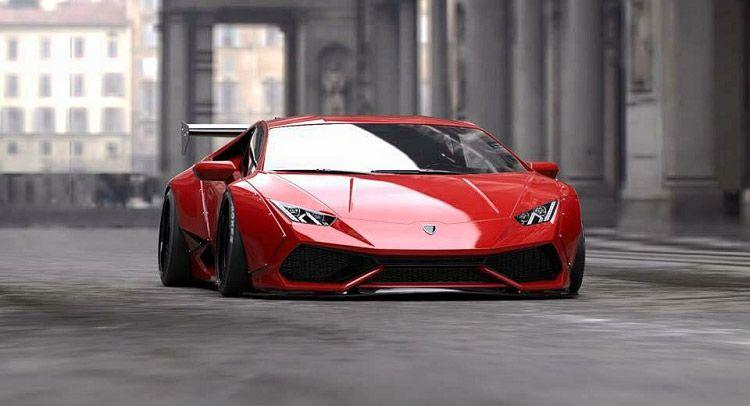 Liberty Walk Shows Off Wild Lamborghini Huracan Wide Body   Carscoops