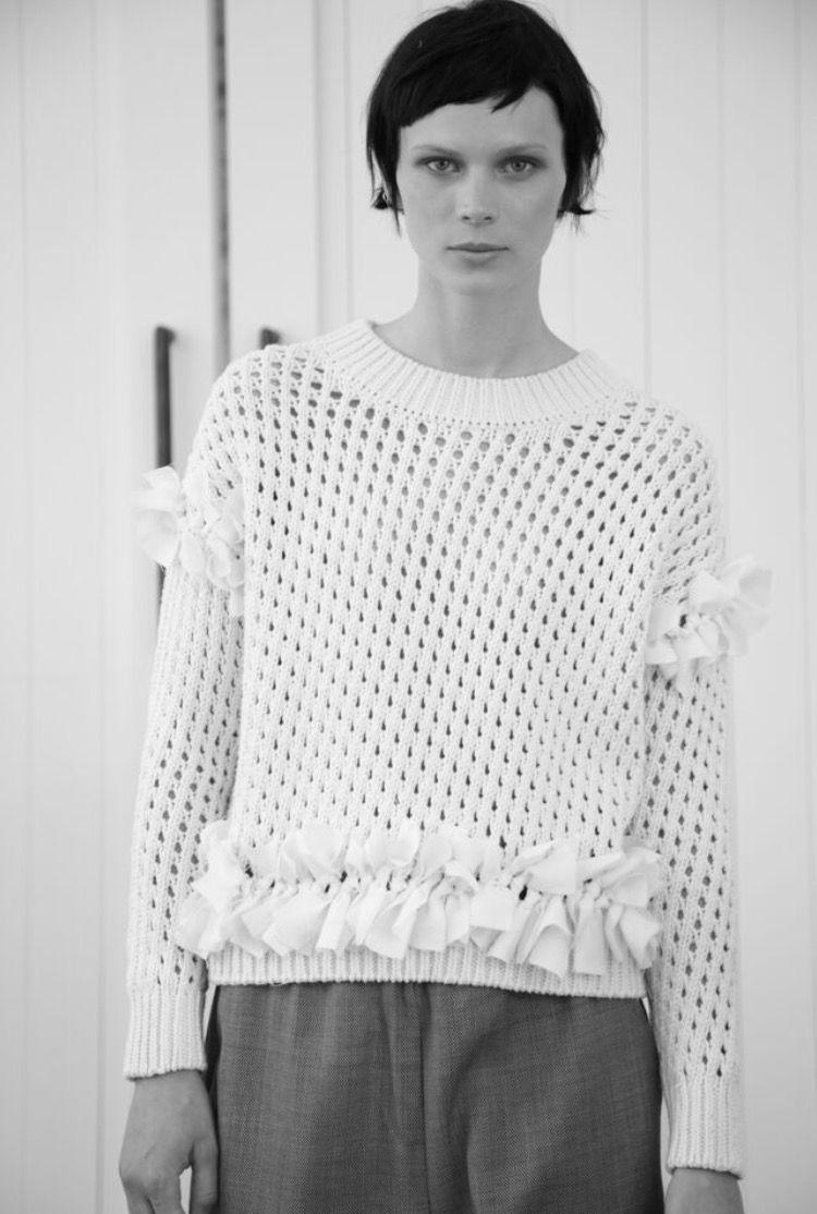 Organic cotton sweater handmade in Peru http://mpatmos.com ...