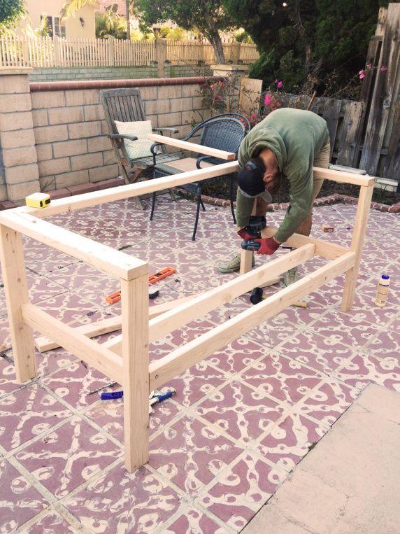 Our DIY Patio Sofa