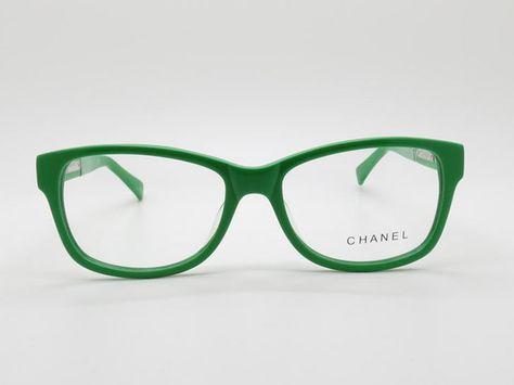 a5b18326c1fd Green Acetate Full-rim Frame Eyeglasses Branded Optical Frames Chanel 3232q  C.1344