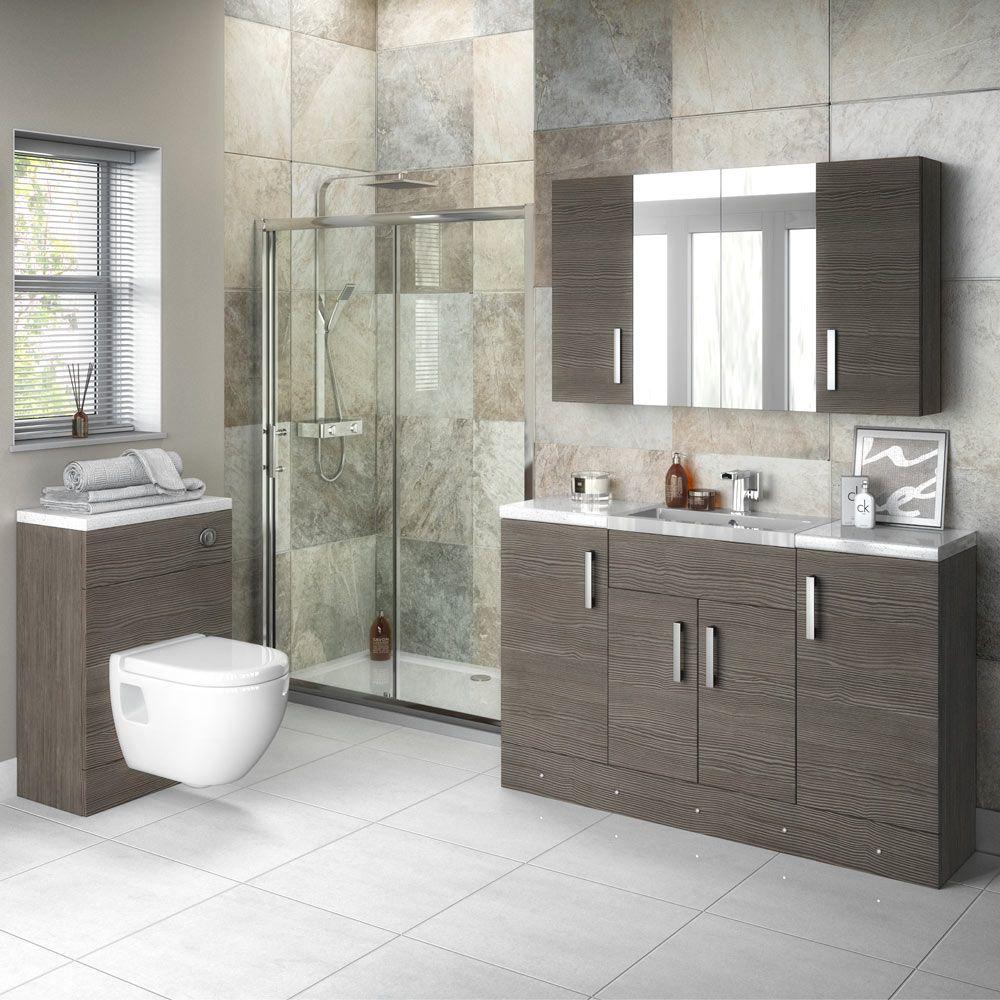 Hudson Reed 800x355mm Grey Avola Full Depth Vanity Unit Victorian Plumbing Uk Bathroom Suites Uk Bathroom Design Inspiration Bathroom Vanity Units Uk