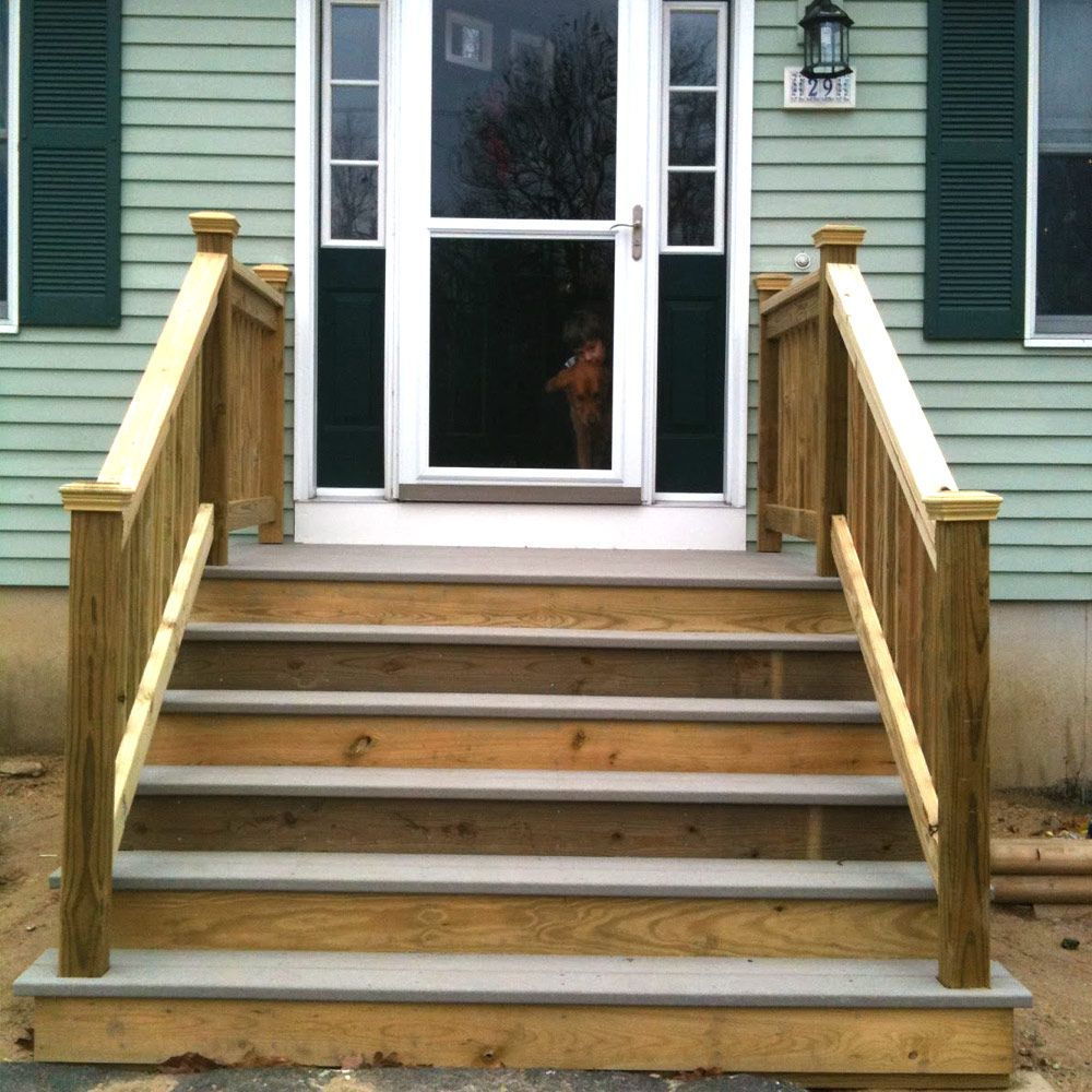 Best Find The Right Mobile Home Steps Or Stairs For You Porch 400 x 300