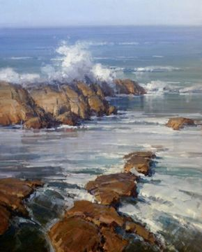 Click On The Image To View A Thumbnail Gallery Of Large Works Ocean Painting Seascape Paintings Landscape Paintings