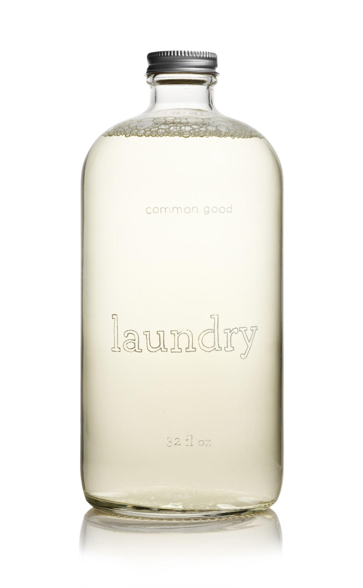 Lavender Laundry Detergent Glass Bottle Lavender Laundry