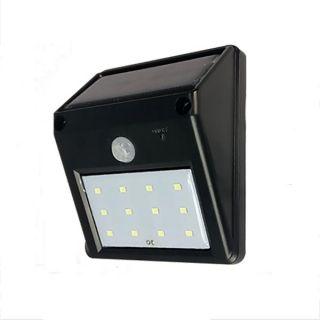 12-LED Lumière Solaire Lampe Solaire Détecteur de mouvement de PIR ...