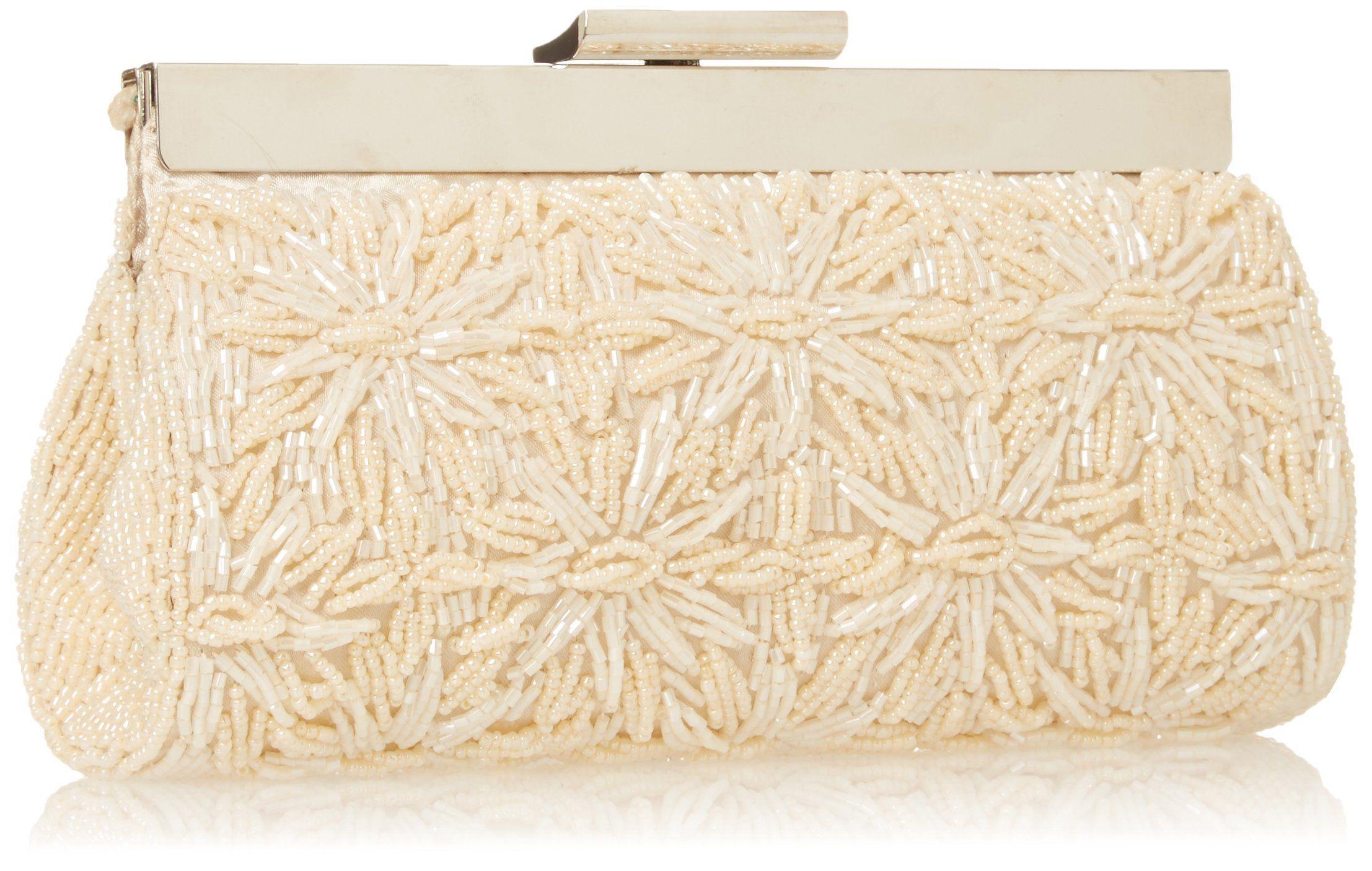 La Regale RL22187 Clutch, ChampagneOne Size: Handbags: Amazon.com