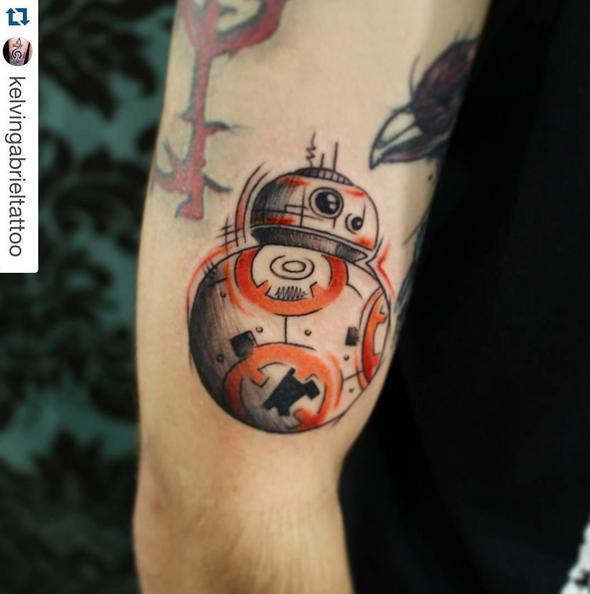 Tatuagens Geek   BB8