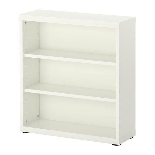 BESTÅ Hylla/överhylla - vit - IKEA
