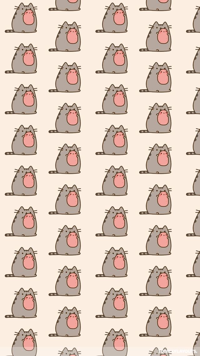 pusheen the cat wallpaper iphone wallpapers pinterest cran ecran iphone et trucs dr les. Black Bedroom Furniture Sets. Home Design Ideas