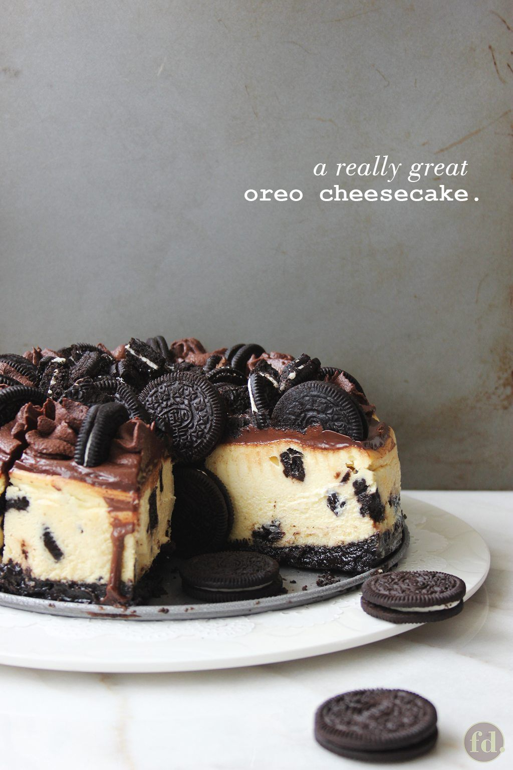Oreo Cheesecake, Love at First Taste! | Foodelicacy