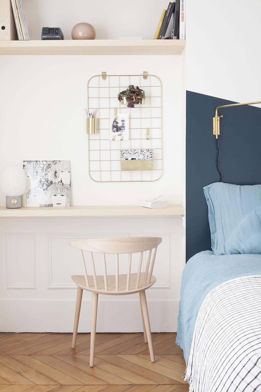 Per chi abita in spazi piccoli ecco una soluzione per recuperare un angolo studio lavoro comodo - Angolo studio in camera da letto ...