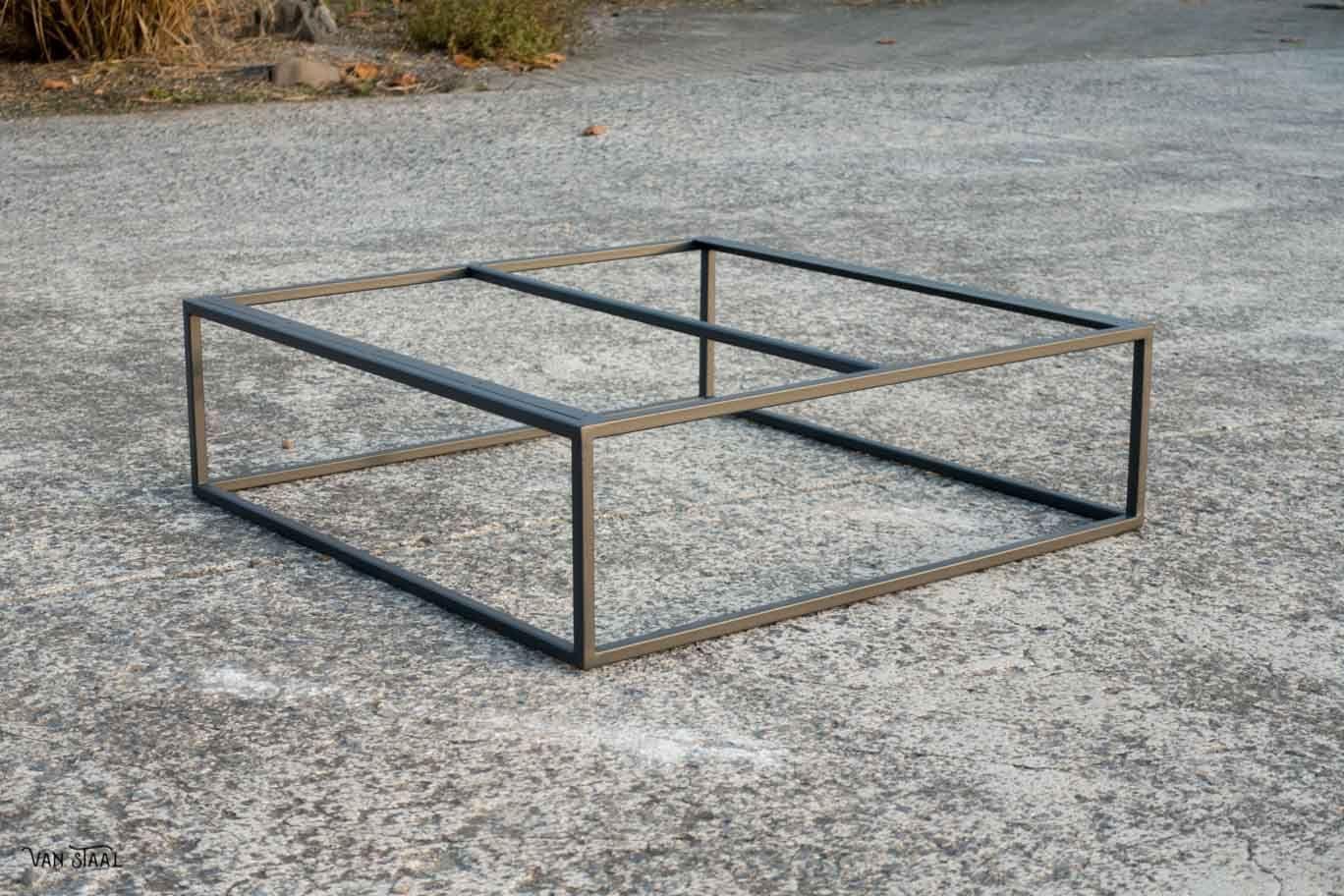 Wonderlijk Stalen onderstel salontafel - Van Staal helpt graag uw ideeën UQ-62