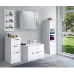 Photo of Bathroom furniture Viva 75 white high gloss emotion