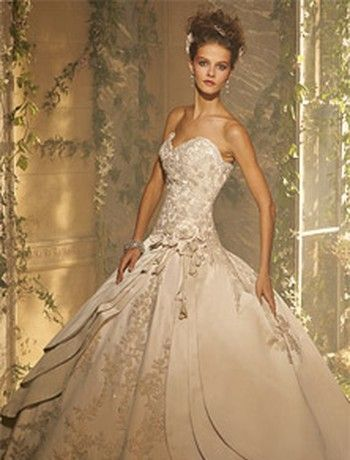 Bridal Gowns: Amalia Carrara Princess/Ball Gown Wedding Dress with ...