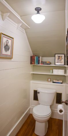 Bathroom Under The Stairs This Would Be Great If The Bathroom Is Close To The Stairs Why Not