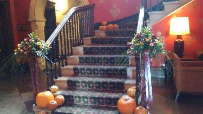 Reception staircase