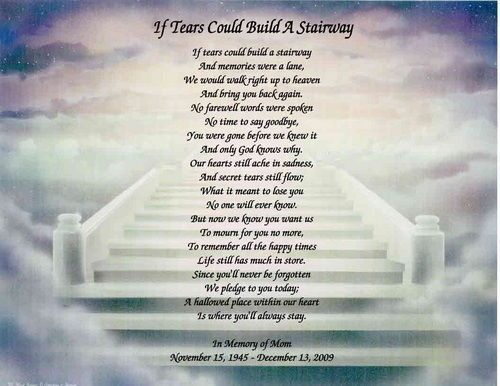 personalized memorial poem for loss of sister