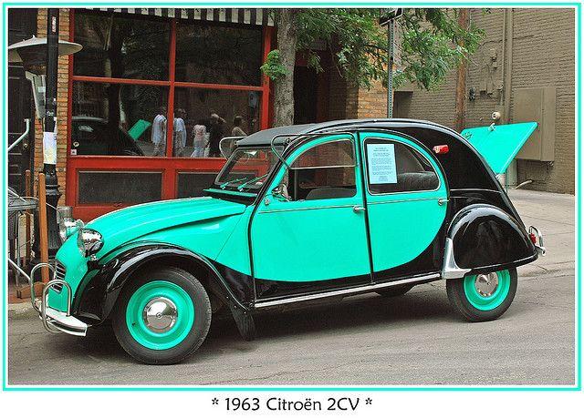 1963 Citroen 2cv Citroen Car Citroen 2cv Mini Cars