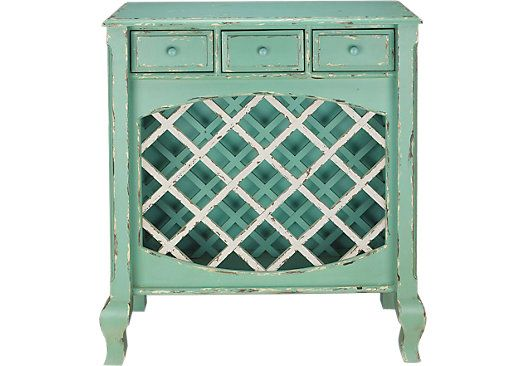 For A Cindy Crawford Home Seaside Green Wine Cabinet At Rooms To Go Find Accent Cabinets That Will Look Great In Your And Complement The Rest Of