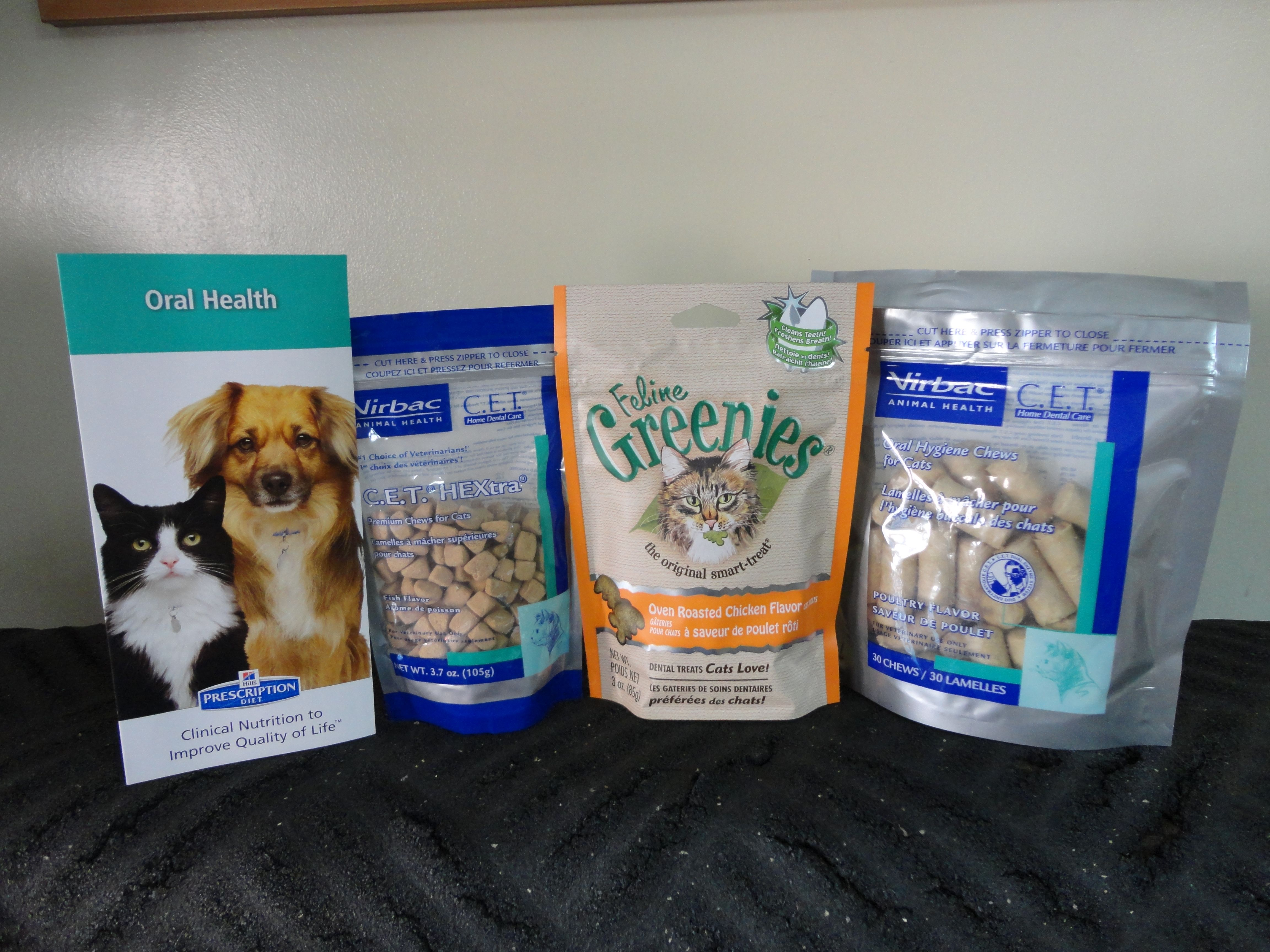 C E T Greenies And Hill S Science Diet T D Treats Are All Easy Options To Help Reduce Tartar And Plaque Build U Feline Health Hills Science Diet Oral Health