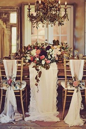 9 trending table runners for weddings wedding wedding and wedding wedding venues obsessed with this chandelier see more trending table runner themes here http junglespirit Image collections