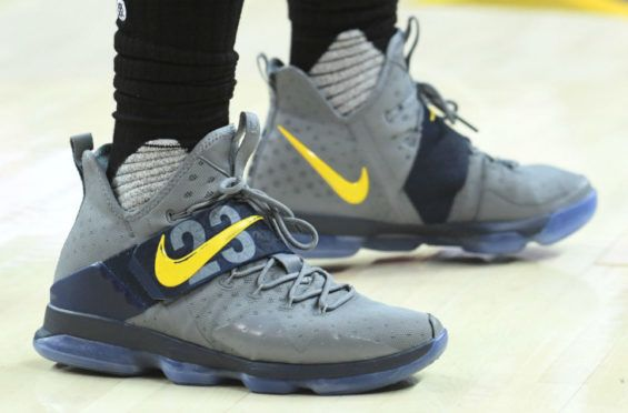 3eb171bd651 LeBron James Debuts Another LeBron 14 PE Colorway
