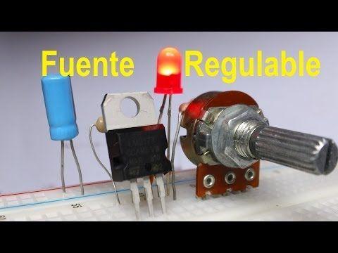 Fuente Regulada De Voltaje Variable Lm317 Variar Velocidad