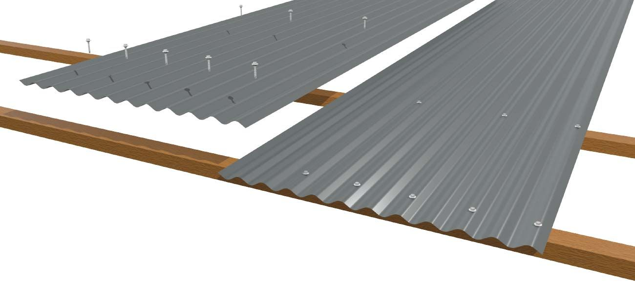 how to install metal roofing over shingles step by step