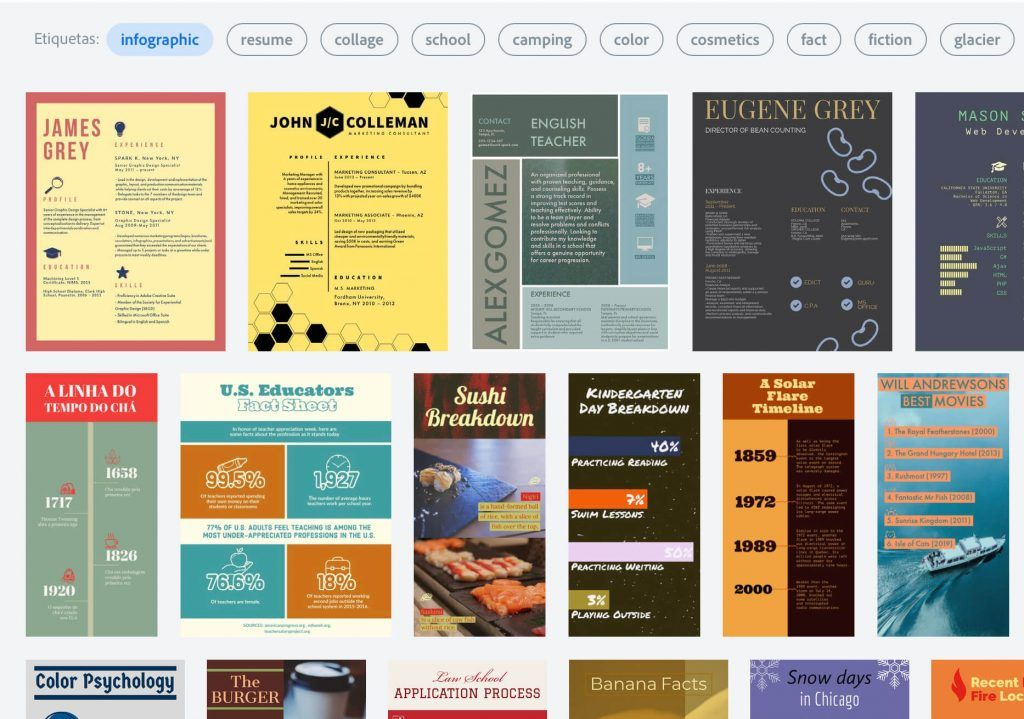 20 Mejores Herramientas Crear infografías Online