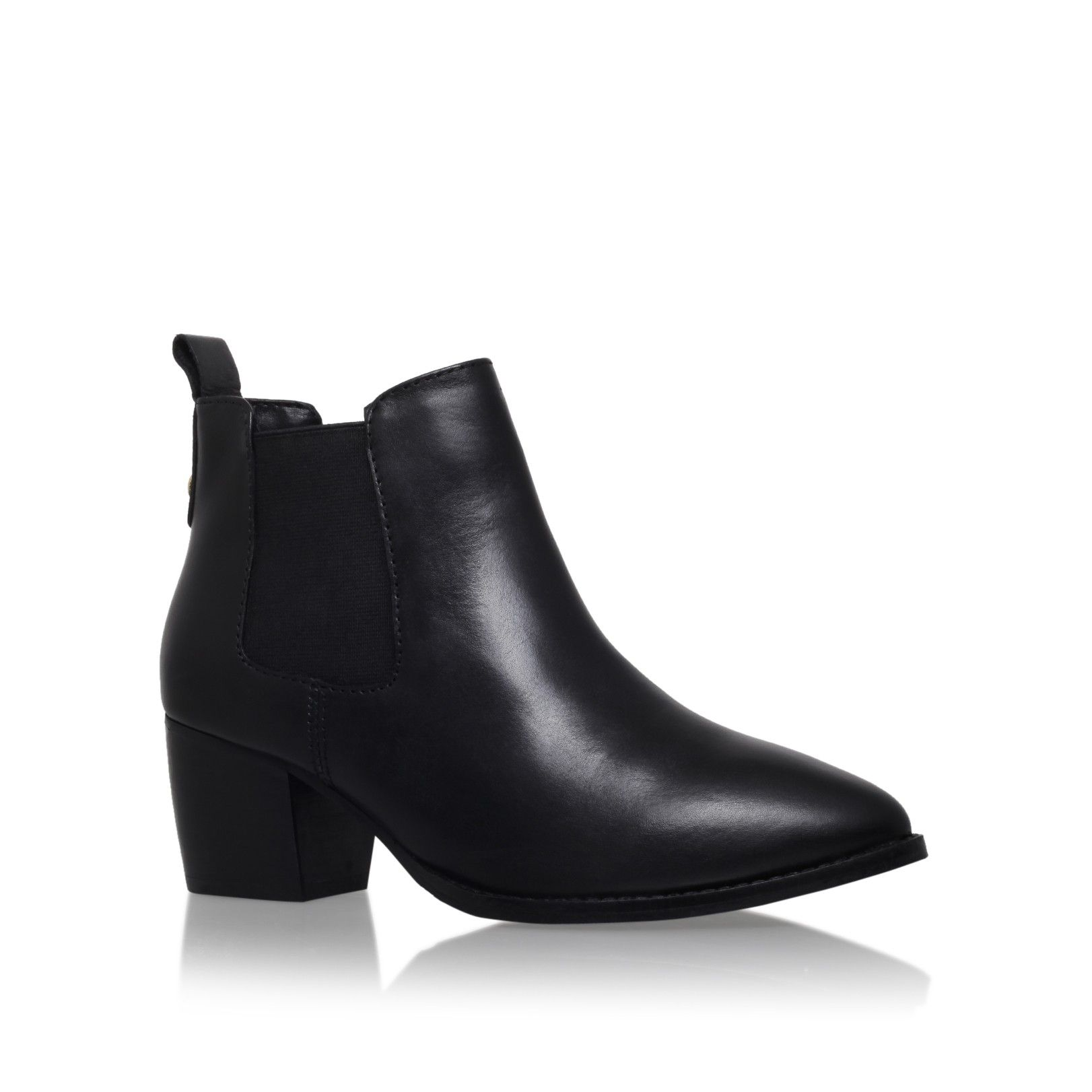 Carvela Stop - black mid heel chelsea boots Cheap Low Shipping Fee Lowest Price Sale Online Sale Limited Edition 0y6PNfb