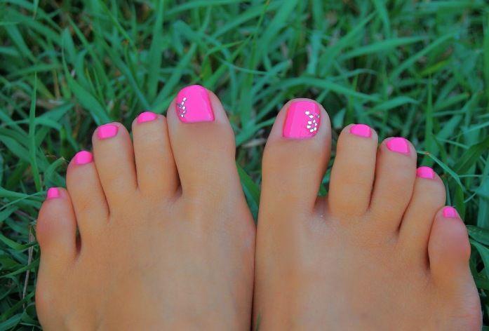 Inspiration For Summer Nails Grunewalddev - Cute Toenail Designs ...