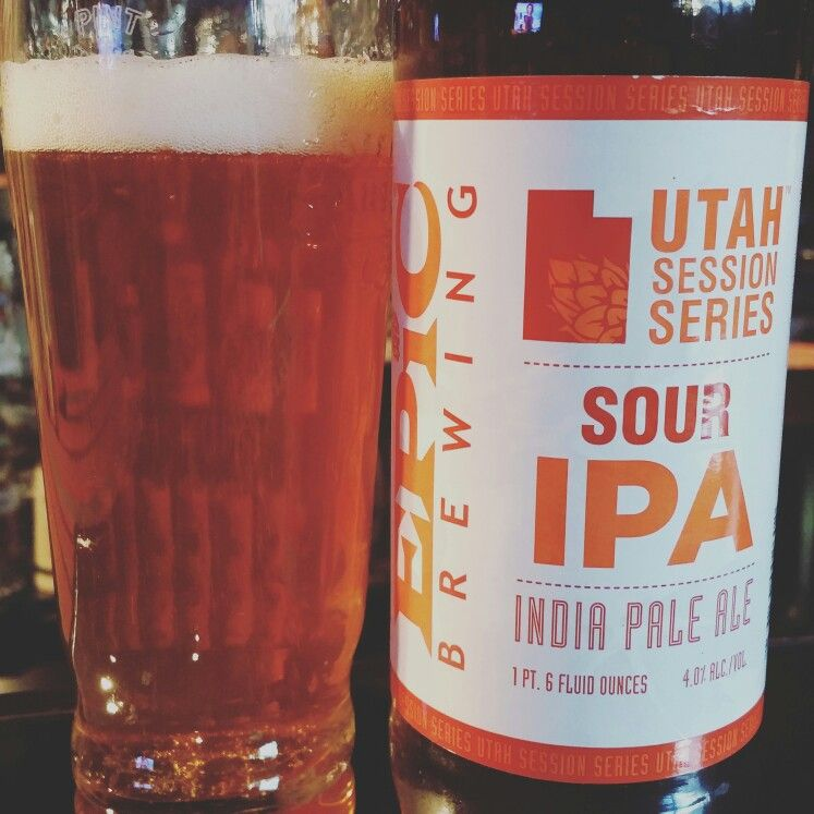 Epic Brewing's Utah Session Series Sour IPA